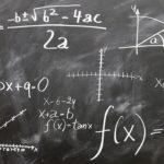 формулы на доске