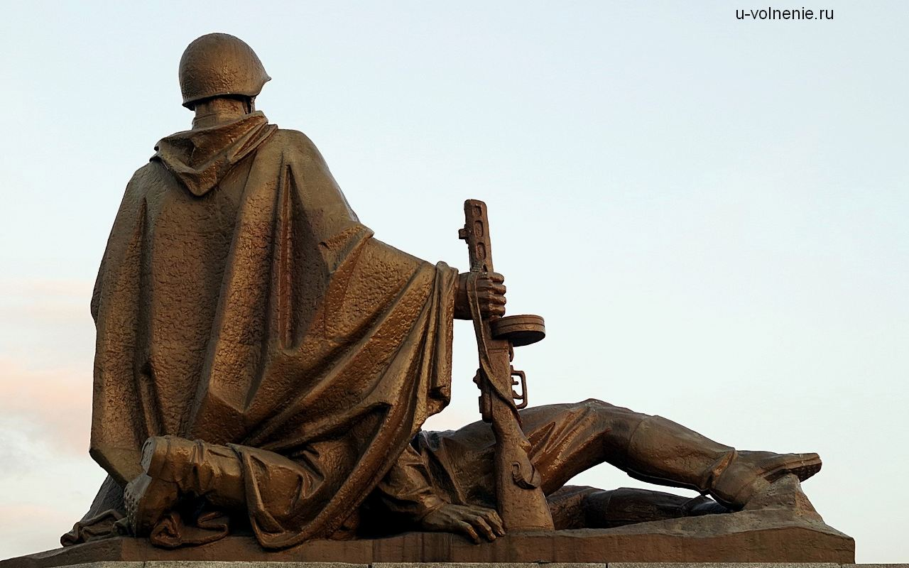 армия солдат памятник