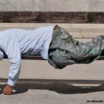 бедный безработный бездомный