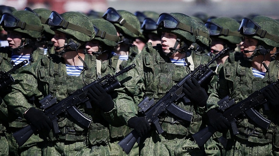армия строй парад