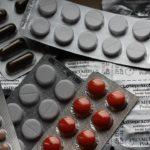 много таблеток разных