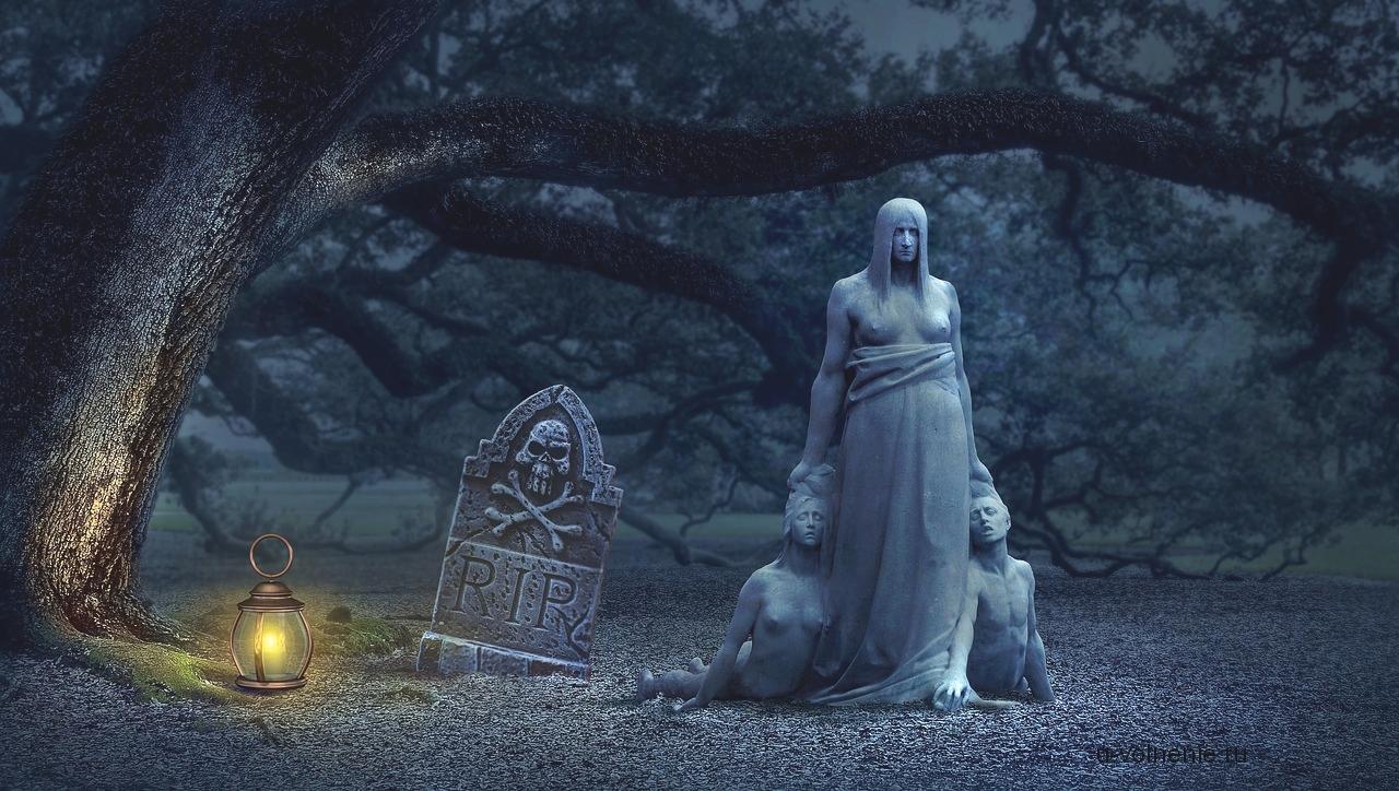 могила статуя