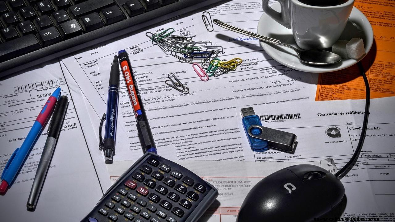 офис клавиатура канцтовары стол