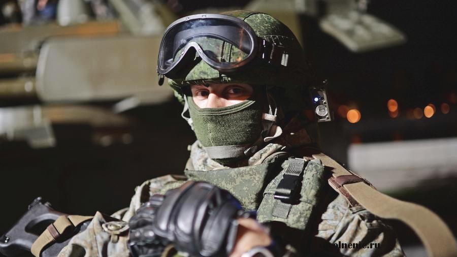 военнослужащий в экипировке