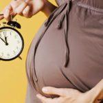 беременная часы