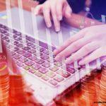 ноутбук деньги графики