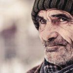 старый человек пенсионер